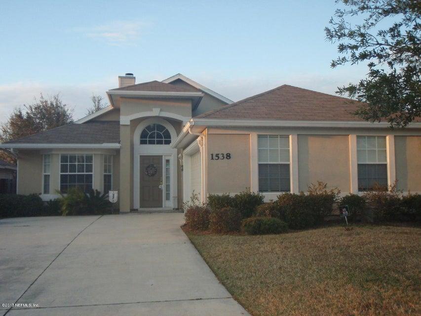 1538 GREENWAY,FLEMING ISLAND,FLORIDA 32003,3 Bedrooms Bedrooms,2 BathroomsBathrooms,Residential - single family,GREENWAY,866267
