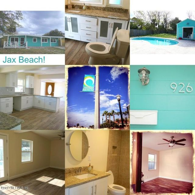 926 5TH,JACKSONVILLE,FLORIDA 32250,3 Bedrooms Bedrooms,2 BathroomsBathrooms,Residential - single family,5TH,866788