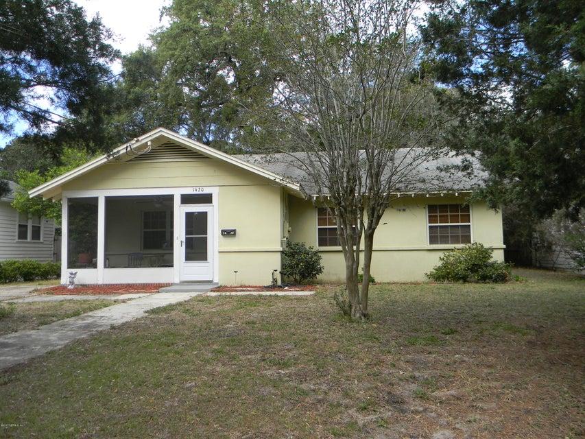 1420 LINDEN AVE, JACKSONVILLE, FL 32207