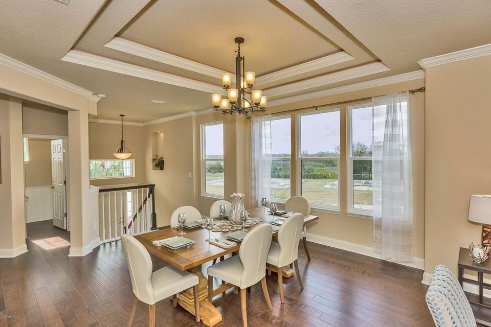 Dining Area- Tray Ceiling