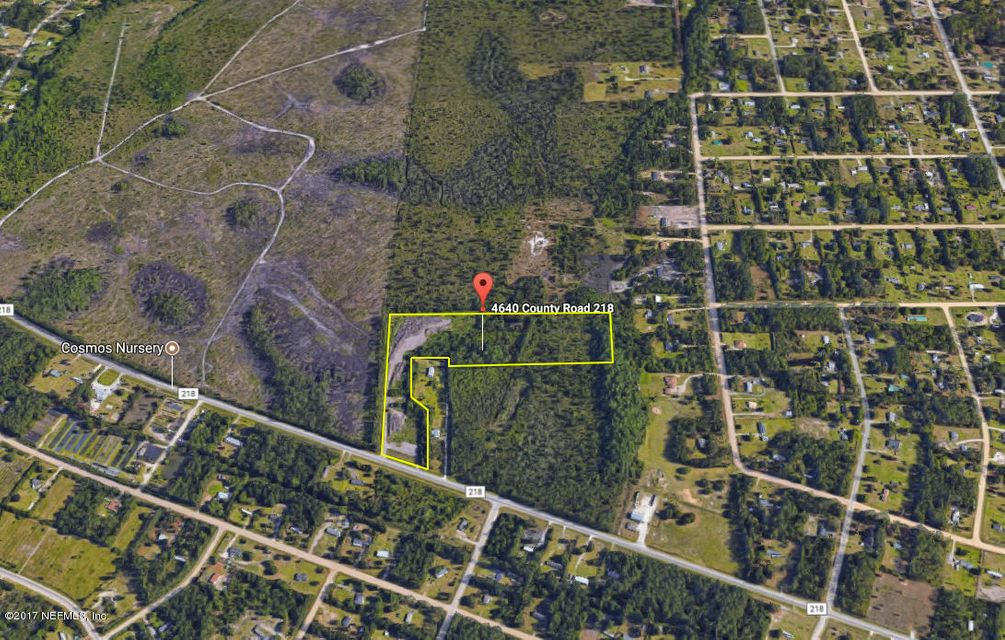 4640 CR 218,MIDDLEBURG,FLORIDA 32068,Vacant land,CR 218,837686