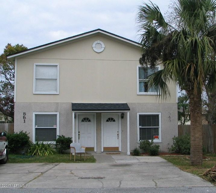 549 6TH AVE S, JACKSONVILLE BEACH, FL 32250