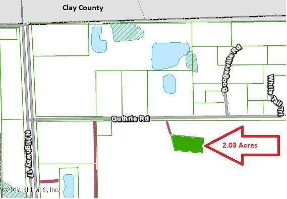 135 GUTHRIE, GREEN COVE SPRINGS, FLORIDA 32043, ,Vacant land,For sale,GUTHRIE,896981