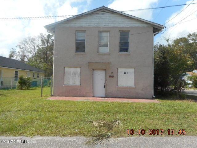 1524 WOODS,JACKSONVILLE,FLORIDA 32209,4 Bedrooms Bedrooms,2 BathroomsBathrooms,Commercial,WOODS,904607