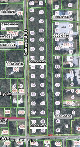 OAKWOOD,CRESCENT CITY,FLORIDA 32112,Vacant land,OAKWOOD,909929