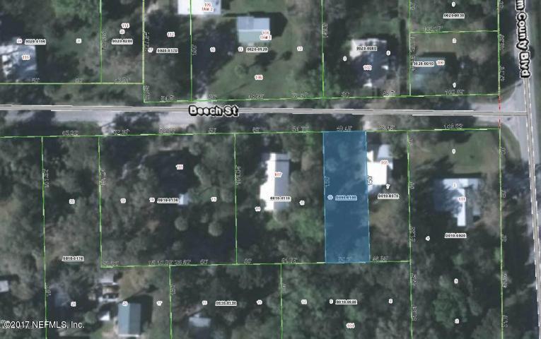 105 BEECH,EAST PALATKA,FLORIDA 32131,Vacant land,BEECH,910297