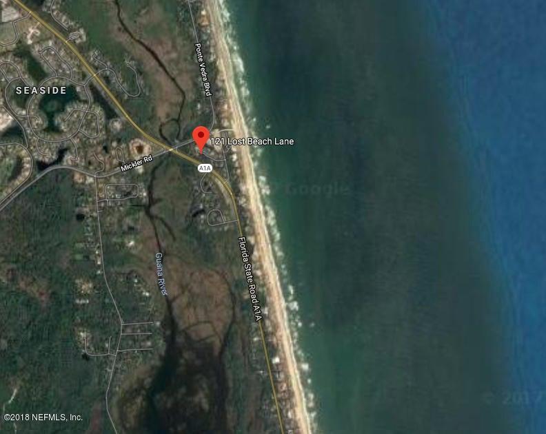 121 LOST BEACH,PONTE VEDRA BEACH,FLORIDA 32082,Vacant land,LOST BEACH,795497