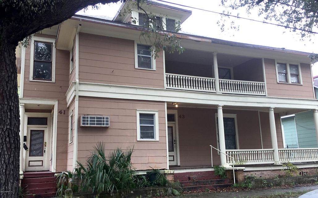 43 4TH,JACKSONVILLE,FLORIDA 32206,12 Bedrooms Bedrooms,12 BathroomsBathrooms,Commercial,4TH,915958