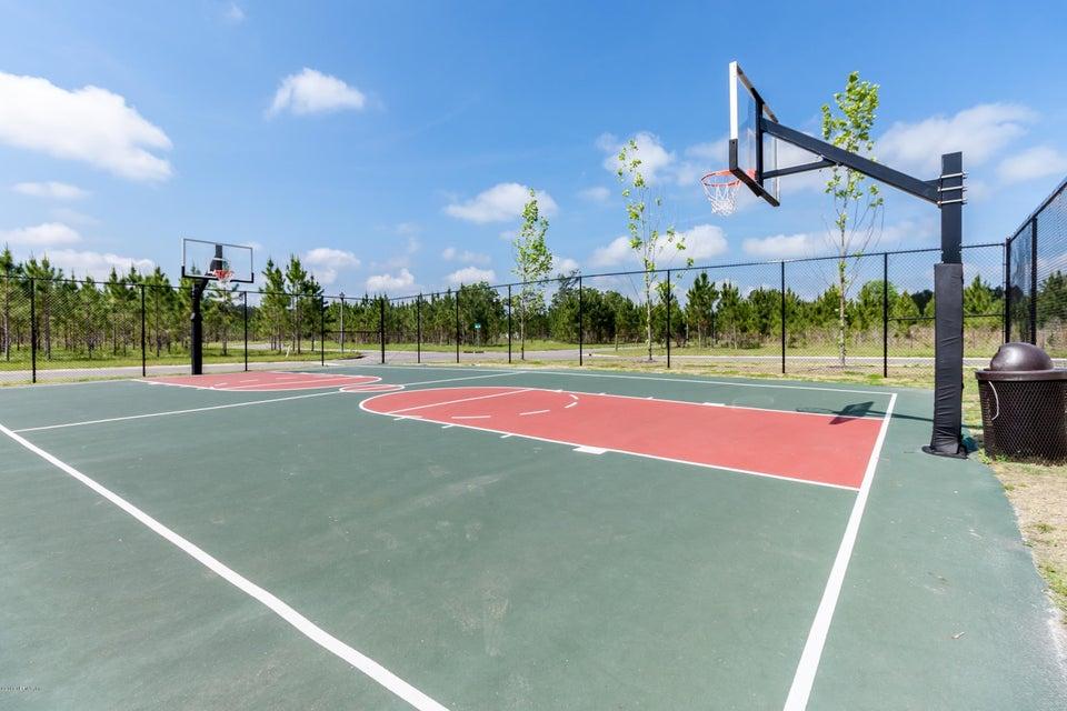 Large Basketball Court