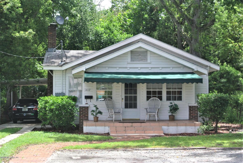 1417 LARUE,JACKSONVILLE,FLORIDA 32207,3 Bedrooms Bedrooms,1 BathroomBathrooms,Commercial,LARUE,923483
