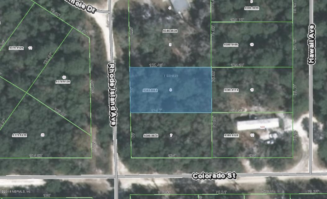 402 RHODE ISLAND, SATSUMA, FLORIDA 32189, ,Vacant land,For sale,RHODE ISLAND,925534