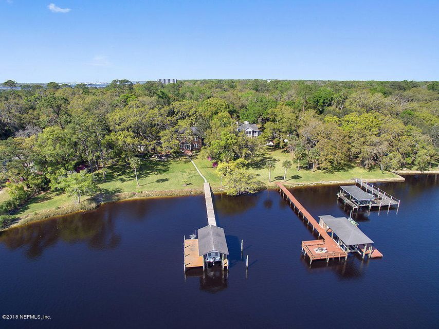 Aerial View of Boathouse