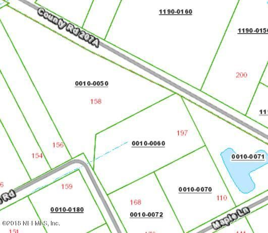 197 COUNTY ROAD 207A,EAST PALATKA,FLORIDA 32131,Vacant land,COUNTY ROAD 207A,926790