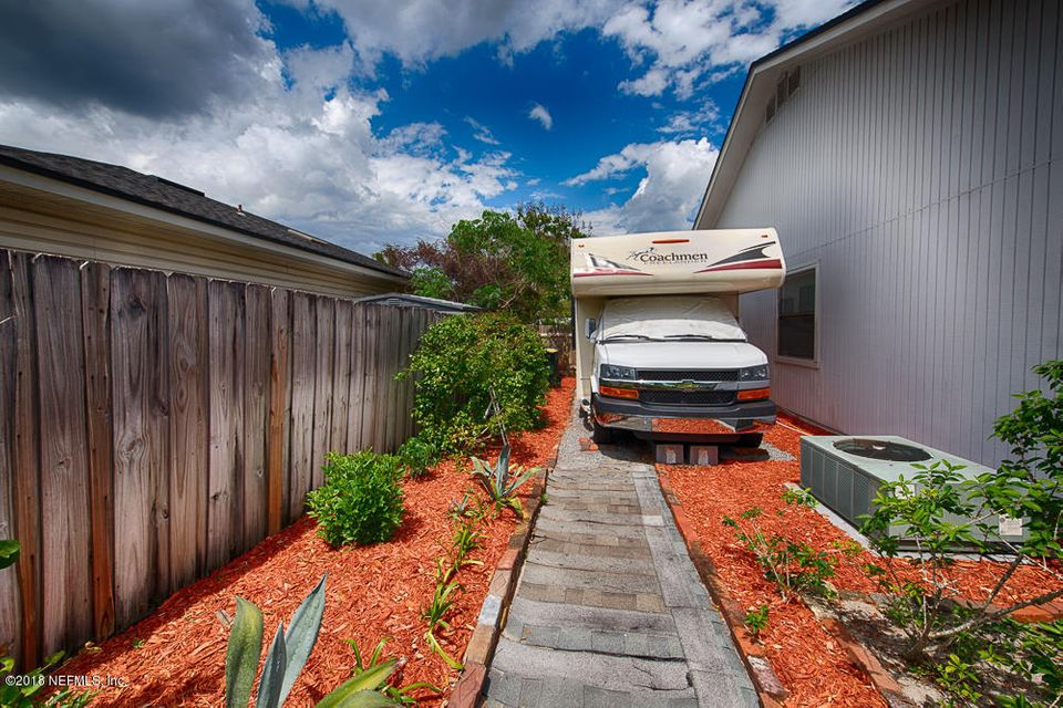 RV Parking - From back yard