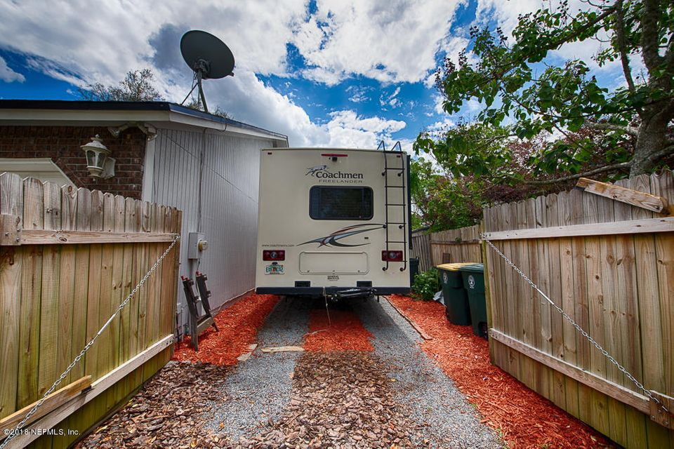 RV Parking - From front yard