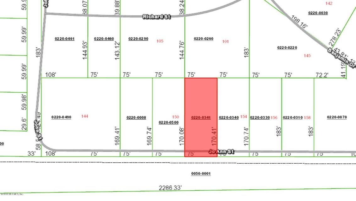 152 JO ANN, HAWTHORNE, FLORIDA 32640, ,Vacant land,For sale,JO ANN,936589