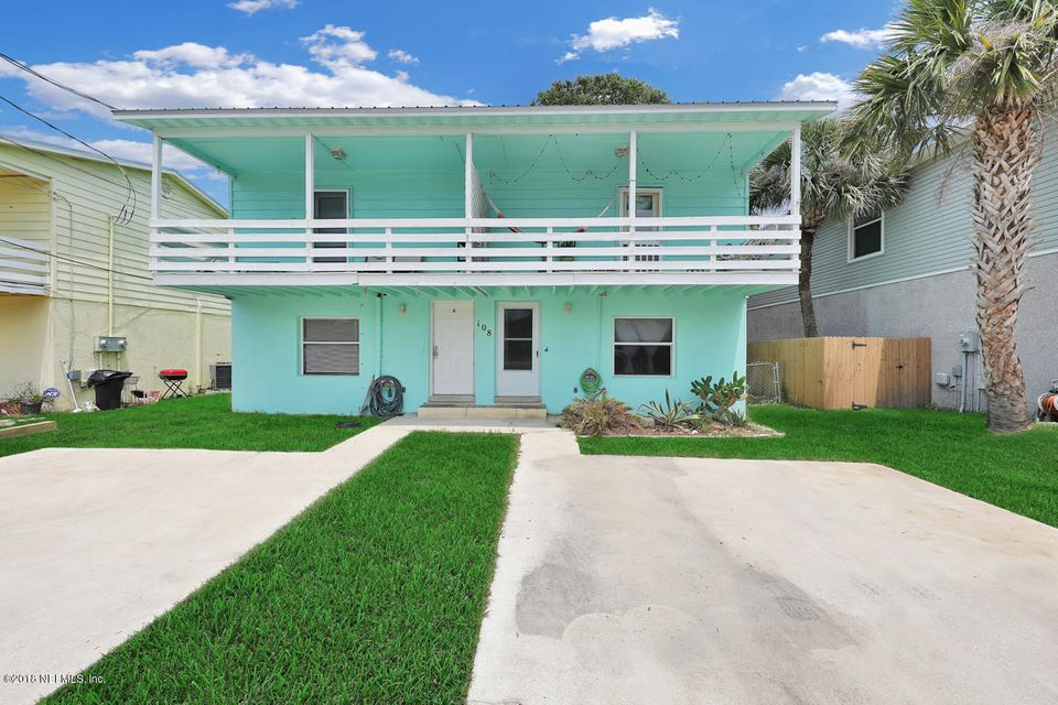 108 E,ST AUGUSTINE,FLORIDA 32080,4 Bedrooms Bedrooms,2 BathroomsBathrooms,Multi family,E,937058
