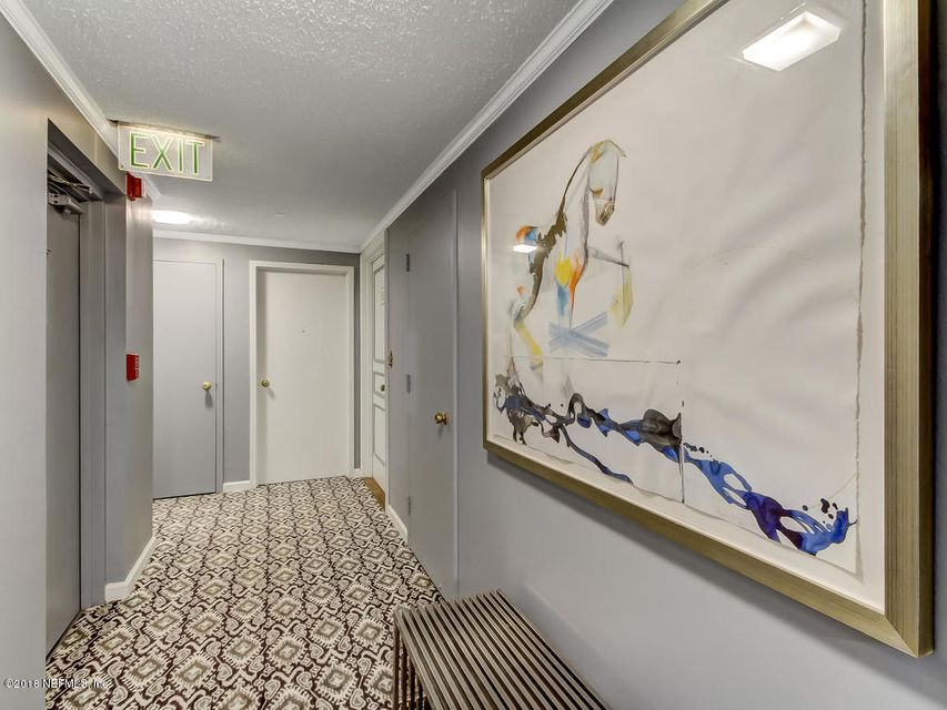 Another view of elevator lobby