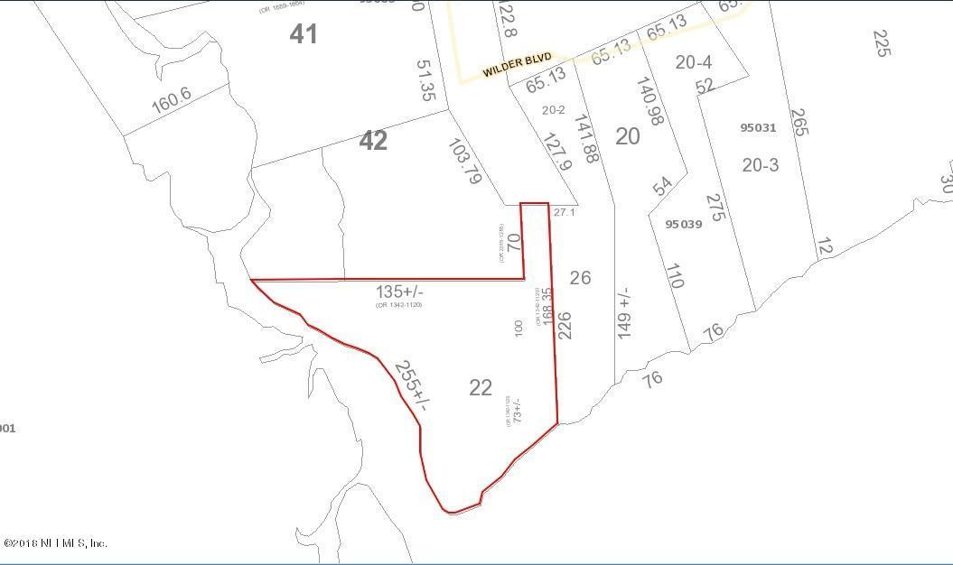 1813 WILDER,FERNANDINA BEACH,FLORIDA 32034,Vacant land,WILDER,936893