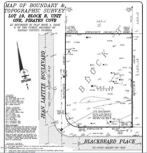 LOT 19 BLACKBEARD,FERNANDINA BEACH,FLORIDA 32034,Vacant land,BLACKBEARD,936922