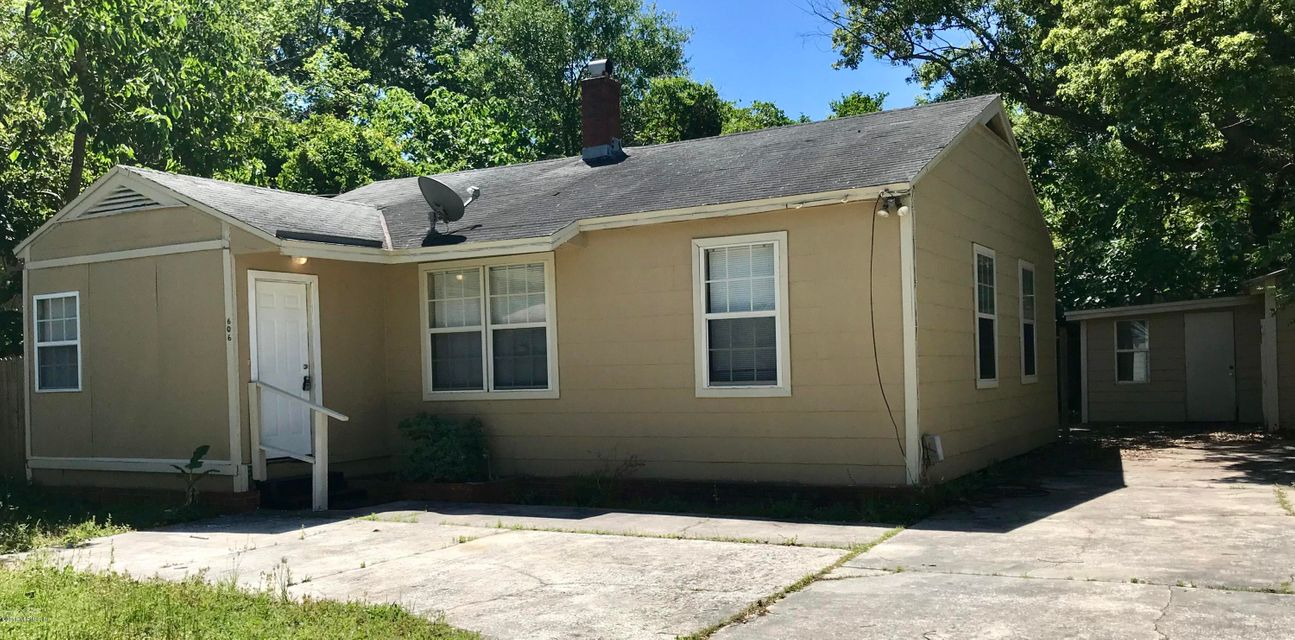 606 61ST,JACKSONVILLE,FLORIDA 32208,3 Bedrooms Bedrooms,1 BathroomBathrooms,Single family,61ST,937040