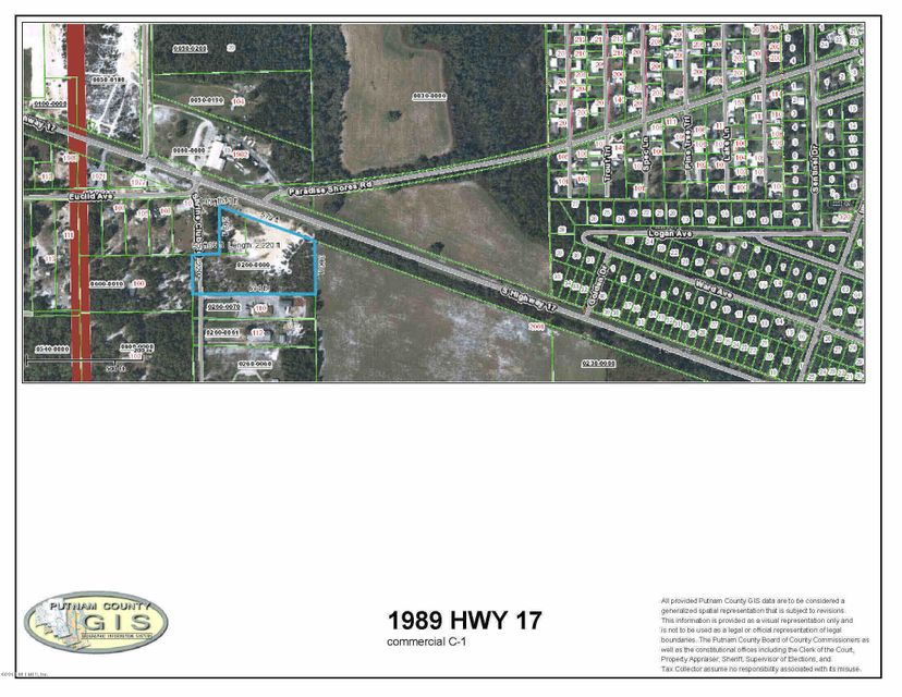 1989 HIGHWAY 17, CRESCENT CITY, FLORIDA 32112, ,Vacant land,For sale,HIGHWAY 17,937084