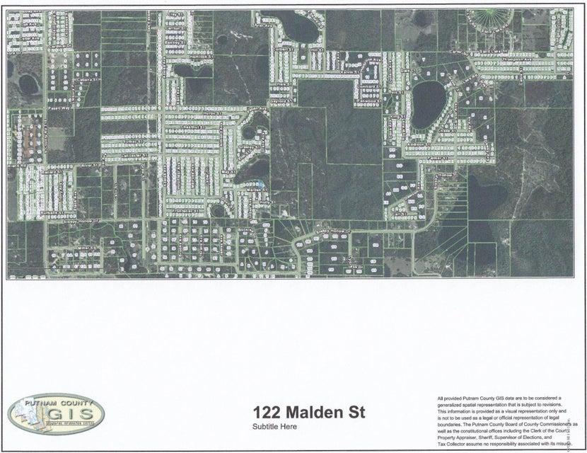 122 MALDEN,INTERLACHEN,FLORIDA 32148,Vacant land,MALDEN,938227
