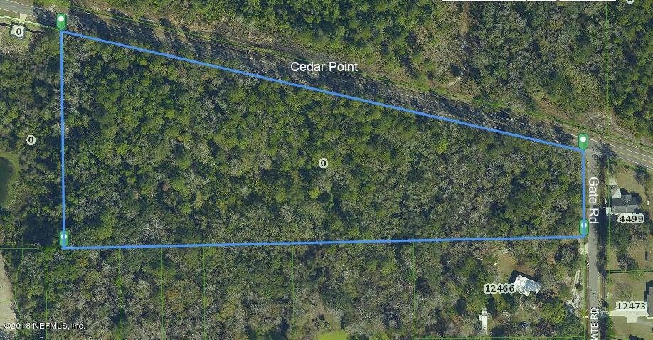CEDAR POINT,JACKSONVILLE,FLORIDA 32226,Vacant land,CEDAR POINT,938905