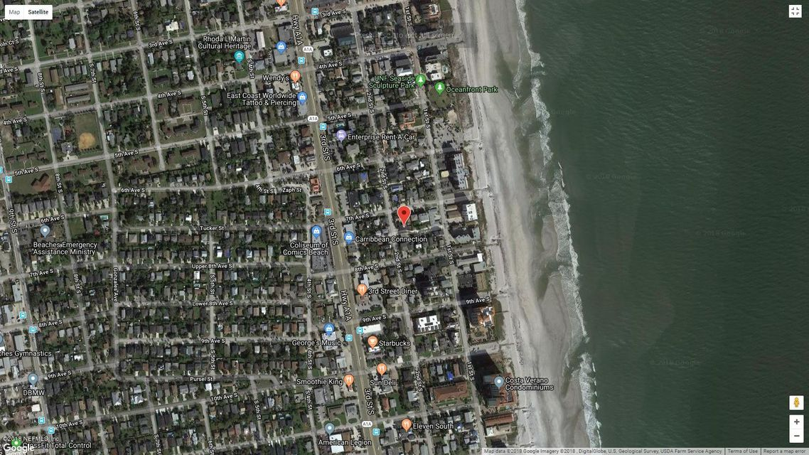 749 2ND,JACKSONVILLE BEACH,FLORIDA 32250,3 Bedrooms Bedrooms,2 BathroomsBathrooms,Commercial,2ND,941666