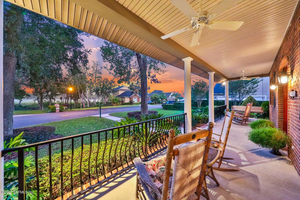 Intracoastal views from the porch