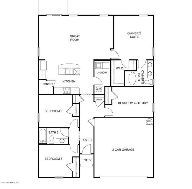 1844 BLACKWATER, MIDDLEBURG, FLORIDA 32068-8807, 4 Bedrooms Bedrooms, ,2 BathroomsBathrooms,Residential - single family,For sale,BLACKWATER,945168