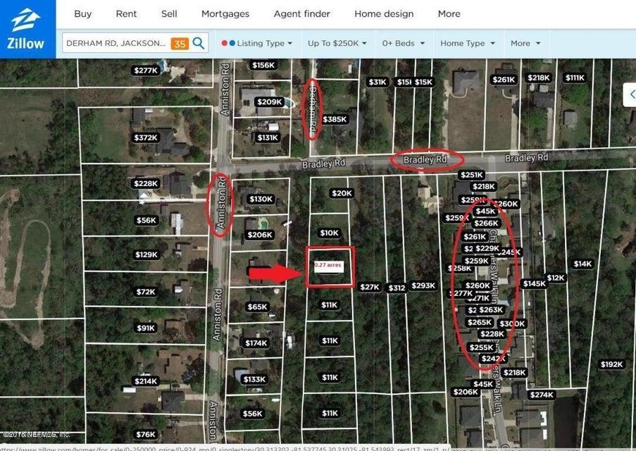 002 DERHAM,JACKSONVILLE,FLORIDA 32246,Vacant land,DERHAM,946290