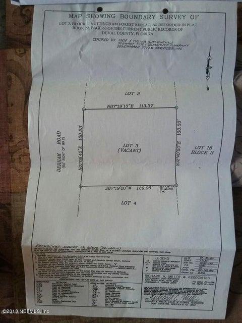 002 DERHAM- JACKSONVILLE- FLORIDA 32246, ,Vacant land,For sale,DERHAM,946290