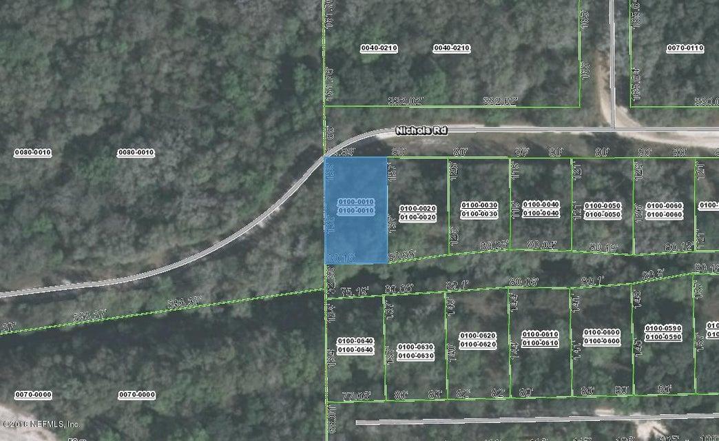 0000 NICHOLS, FLORAHOME, FLORIDA 32140, ,Vacant land,For sale,NICHOLS,951664