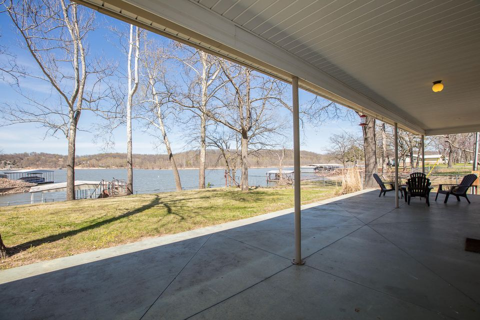 162 Private Road 121 , Eucha, OK 74342 - Back Deck