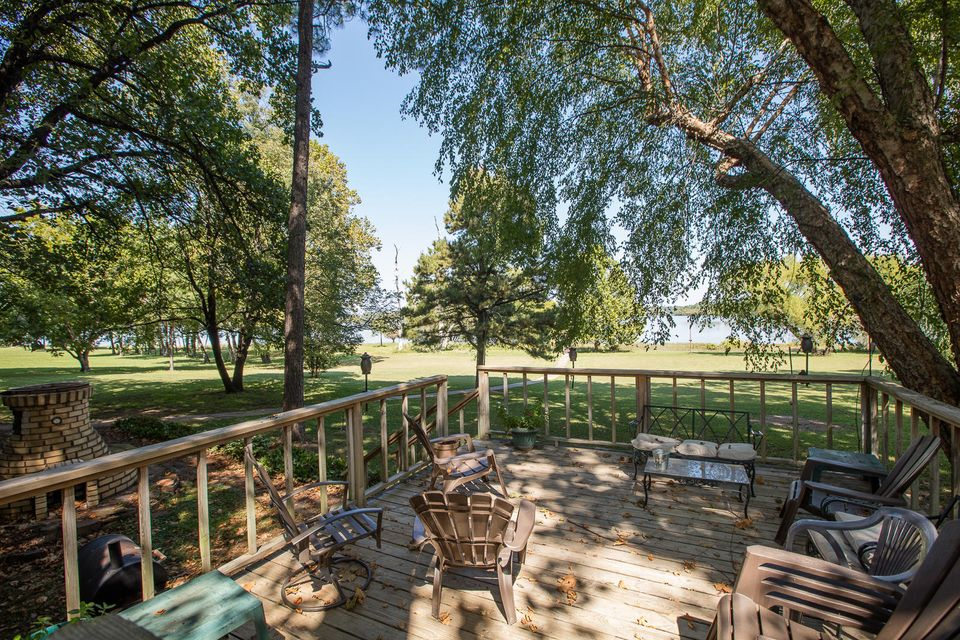 30346 4537 S Rd, Afton, OK 74331 - Back Deck And Waterfront