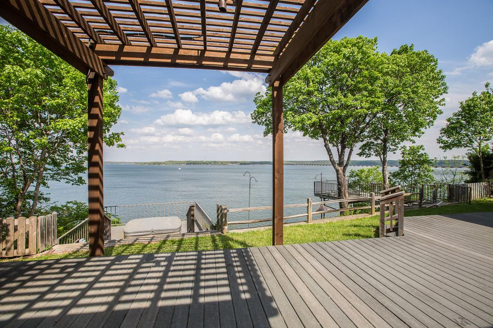 1122 Coleman Dr, Langley, OK 74350 - Back Deck And View