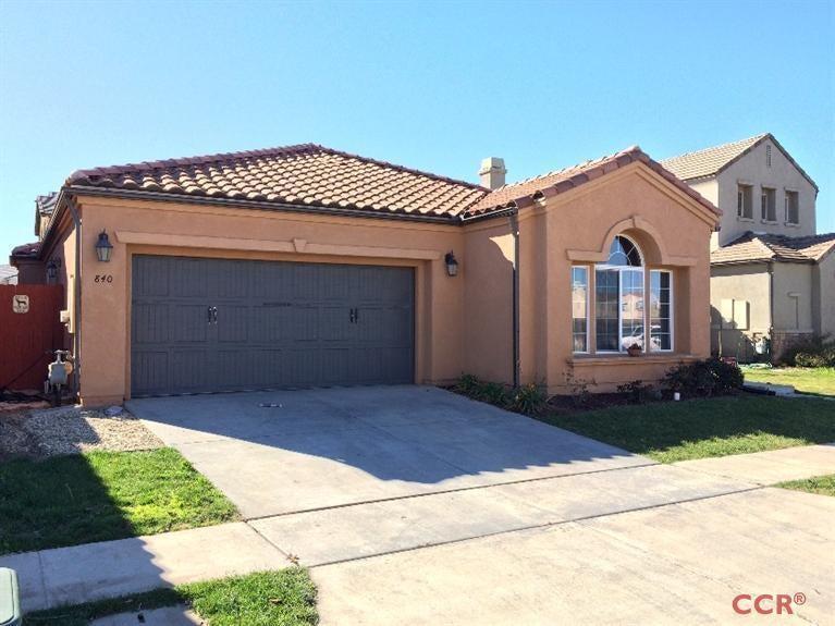 Property photo for 840 Della Drive Santa Maria, CA 93458 - 1062947