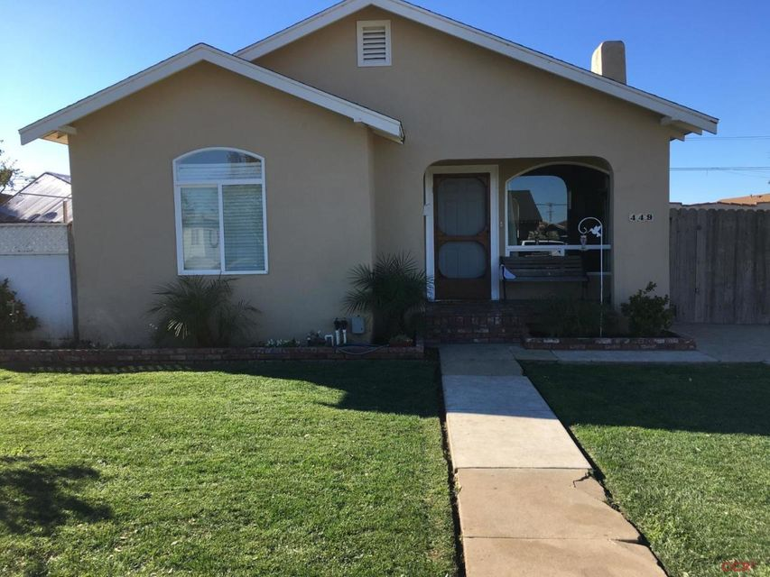 Property photo for 449 Tognazzini Avenue Guadalupe, CA 93434 - 1074512
