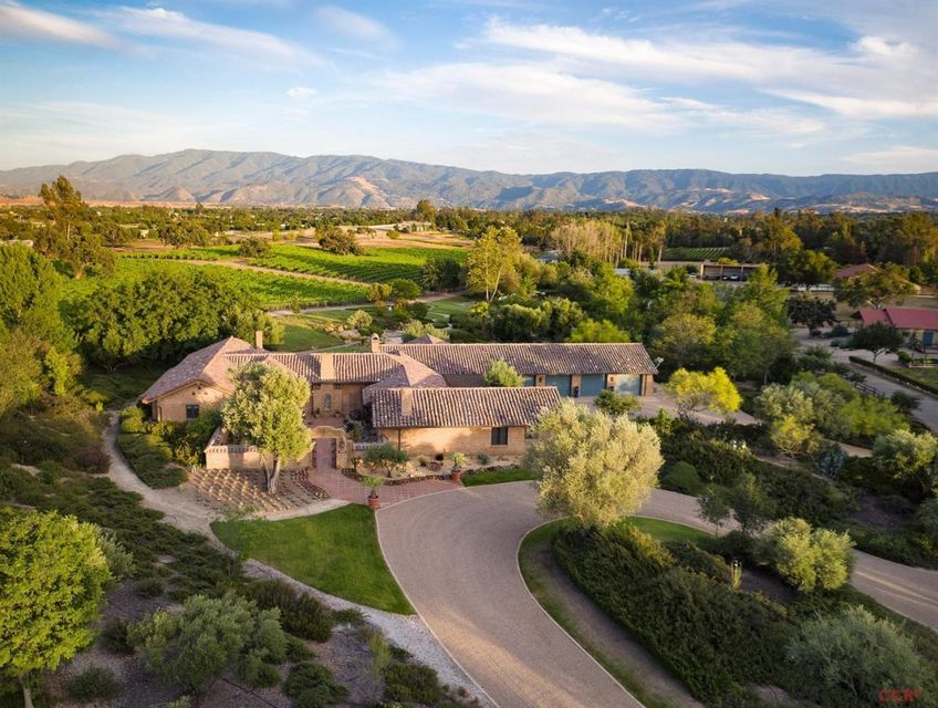 Single Family Home for Sale at 2740 Ontiveros Road 2740 Ontiveros Road Santa Ynez, California,93460 United States