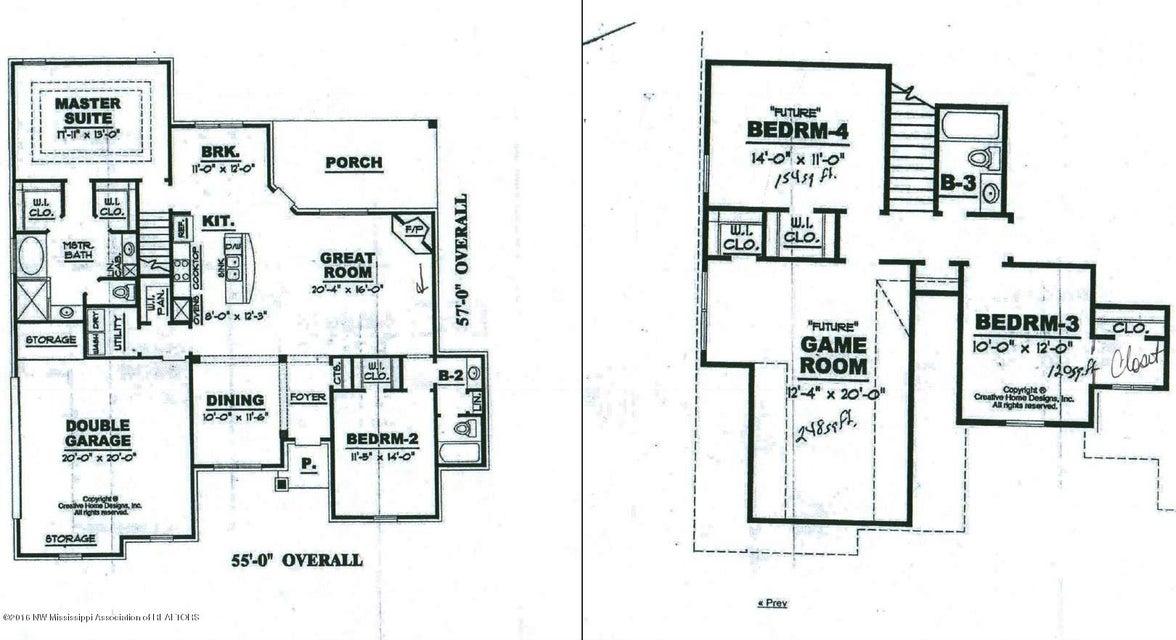 14466 Myers Plantation Cv, Olive Branch, MS 38654
