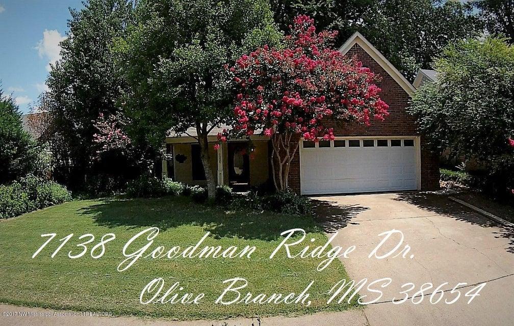 7138 Goodman Ridge Drive, Olive Branch, MS 38654