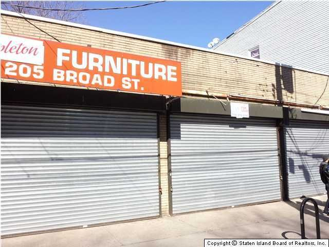 Commercial for Rent at 203 Broad Street Staten Island, New York 10304 United States