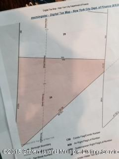 Land for Sale at 0 Morning Star Road Staten Island, New York 10303 United States