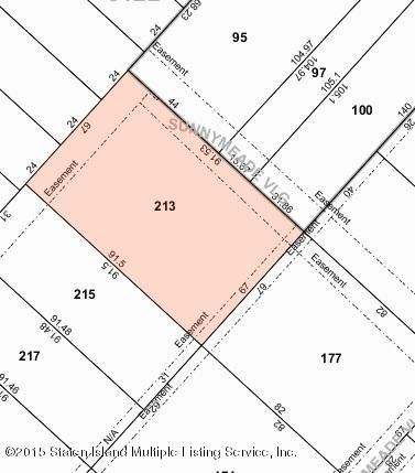 Land for Sale at 28 Sand Court Staten Island, New York 10305 United States