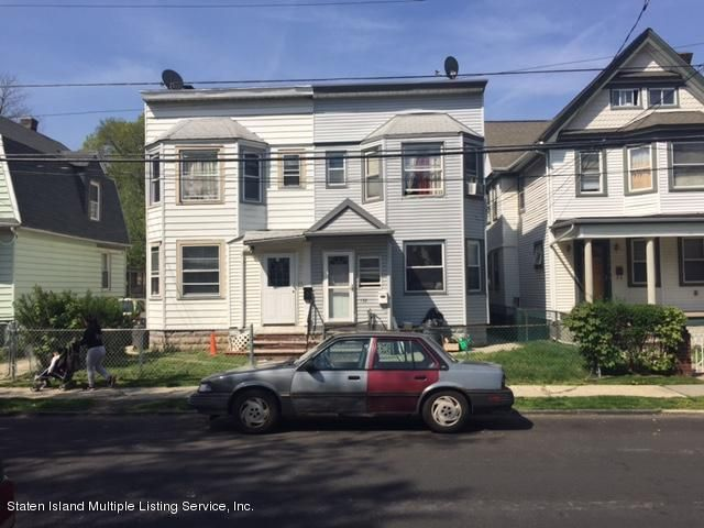 Single Family Home for Sale at 132 Elm Street Staten Island, New York 10310 United States