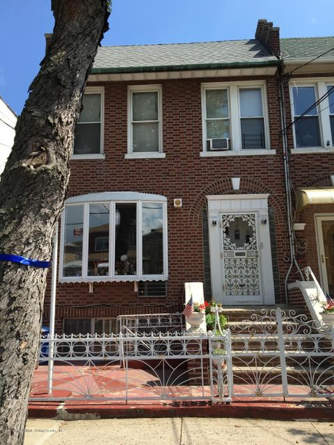 Two Family - Semi-Attached in Dyker Heights - 225 Bay 11th Street  Brooklyn, NY 11228