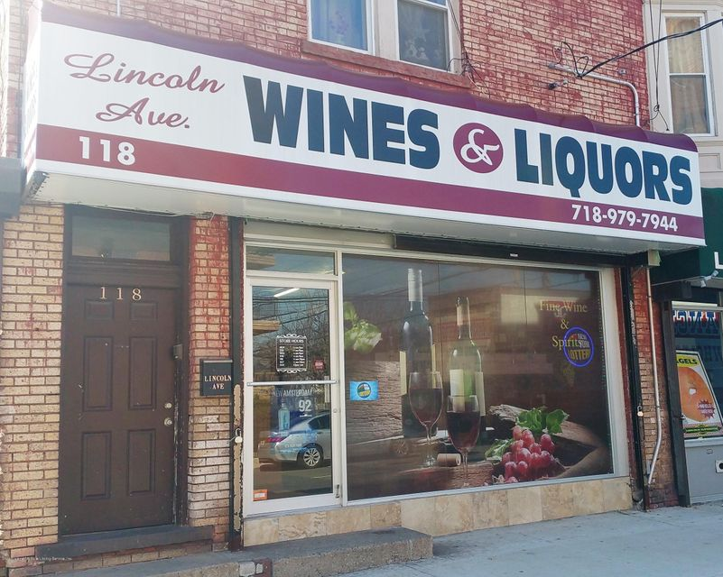 Commercial for Rent at 118 Lincoln Ave Staten Island, New York 10306 United States