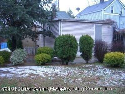 Single Family Home for Sale at 422 Neckar Avenue Staten Island, New York 10304 United States