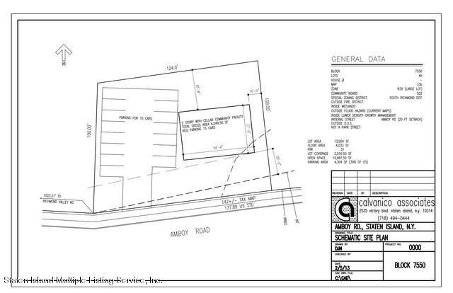 Land for Sale at 0 Amboy Road Staten Island, New York 10309 United States
